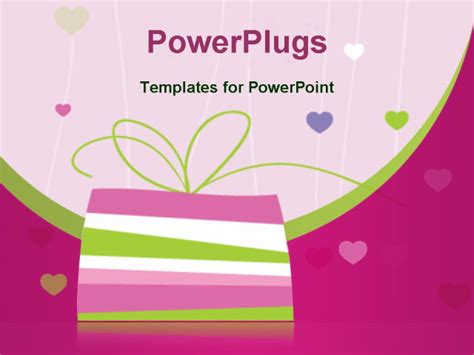 Birthday Card Powerpoint Template birthday card with copy space powerpoint template