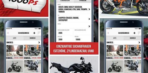 Gebrauchtmotorrad Bmw Deutschland by Neue Gebrauchtmotorrad App Motorrad News