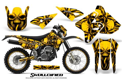 Suzuki Graphics Suzuki Dirt Bike Graphic Kits For Rmz 450 Rmz 250 Rm 125