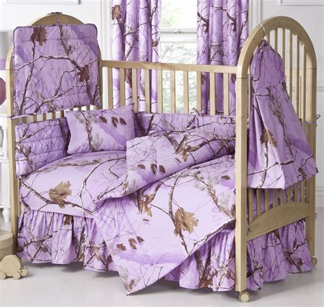 Lavender Crib Bedding Sets Camo Bedding Realtree Ap Lavender Camo Crib Bedding Camo Trading