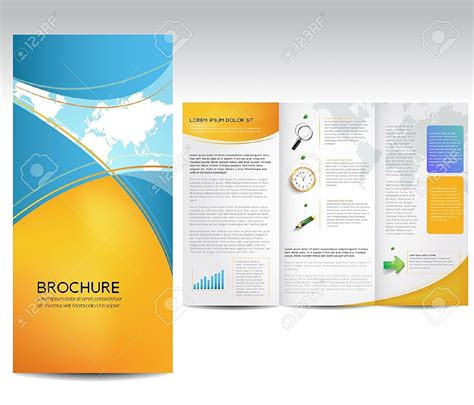 brochure templates word exle masir