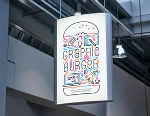 graphicburger flyer mockup indoor advertising poster mockup 2 graphicburger