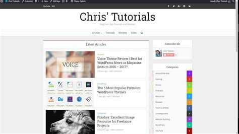 wordpress tutorial videos for beginners building a front page in voice theme wordpress tutorial