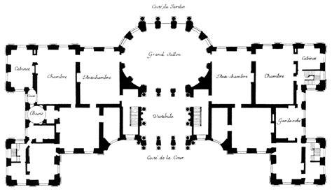 Hardwick Hall Floor Plan by File Plan Of Vaux Le Vicomte Harris 2005 P249 Jpg