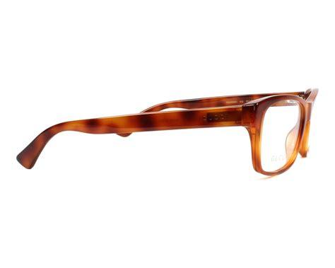 Gucci 0006 5 Warna gucci eyeglasses gg 0006 o 012 brown visionet