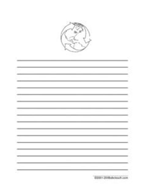 planet writing paper earth day writing paper printables template for 1st