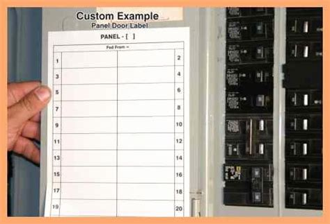 Free Printable Circuit Breaker Panel Labels New Electrical Panel Label Template Excel Unique Circuit Breaker Panel Label Template Excel