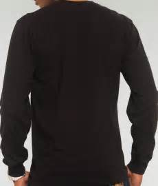 pics for gt black long sleeve shirt template
