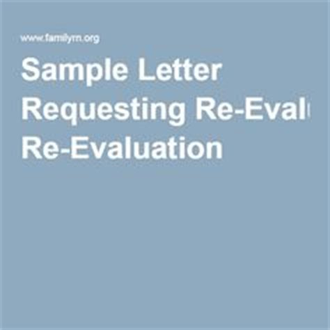 Re Evaluation Request Letter 1000 Images About Iep Sle Letters On Letters Bipolar Children And Student
