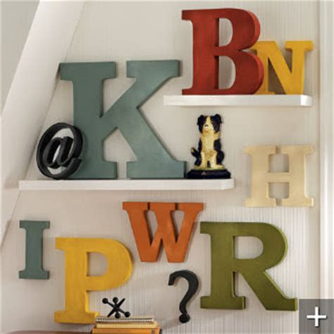 Metal Decorative Letters by Decorative Letters Driven By Decor