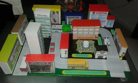 maquetas de ciudades con material de reciclaje maqueta ciudad en ingl 233 s maquetas proyectos escolares