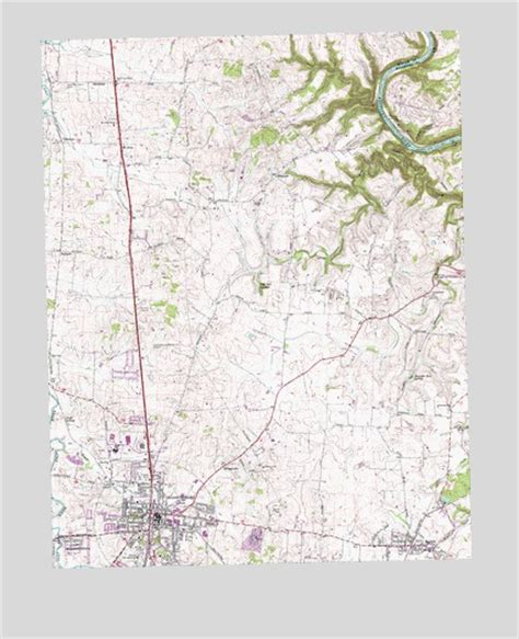 A Place Bryantsville Ky Harrodsburg Ky Topographic Map Topoquest