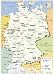 A Map Of Germany by Concept Design Home Germany Map Images