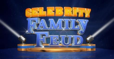 what is celebrity family feud celebrity family feud tv show on abc ratings cancelled