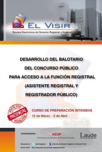 balotario desarrollado para el concurso de nombramiento de desarrollo de balotario para concurso p 218 blico nacional de