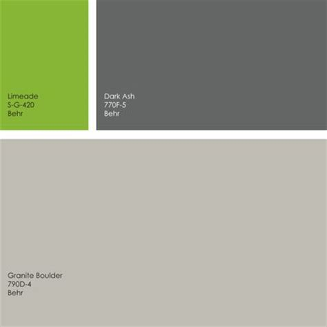 behr paint colors in green by ott design gray and green color palette