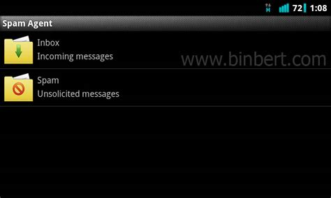anti filter apk anti spam sms filter application for android symbian binbert