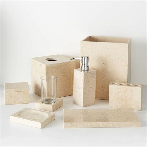 Sandstone Bathroom Accessories Hudson Park Bath Accessories Bloomingdale S
