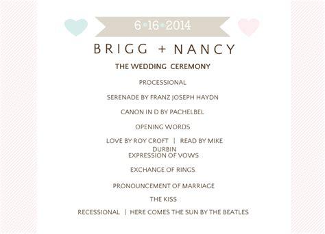 Day Of Wedding Stationery: Wedding Programs, Wedding Menus
