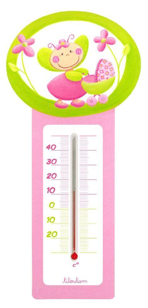 thermometre chambre enfant thermom 232 tre chambre d enfant titoutam lilifleur photo de