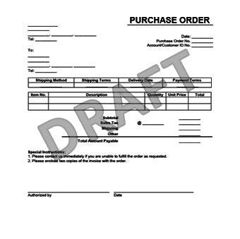create a purchase order form in minutes legaltemplates