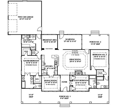 classic colonial floor plans fulbright colonial home plan 028d 0050 house plans and more