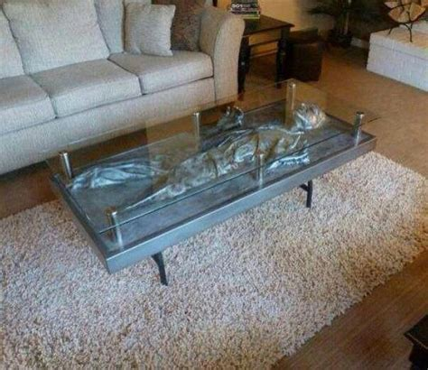 Carbonite Coffee Table Han Coffee Table Ideas Pinterest