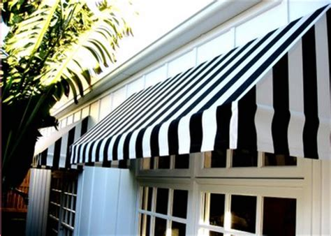striped awning awntech 5 ft nantucket awning home depot g h landscape