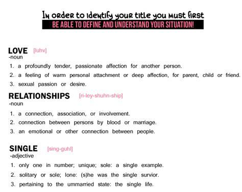 Define Relationship Definition 101 Can You Define Relationship Single