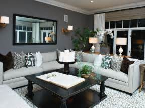 hgtv designer portfolio living rooms gray living room with bold accents hgtv