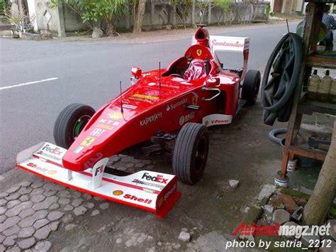 Foto Modifikasi Vespa Gokart by Replica F1 Car Autonetmagz