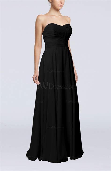 Sleeveless Plain Sheath Dress black plain sheath sweetheart sleeveless backless evening
