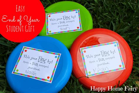 fun gifts for students during student teaching easy end of year student gift free printable happy home