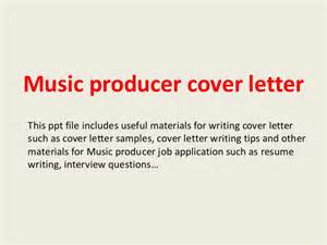 Advertising Producer Cover Letter producer cover letter