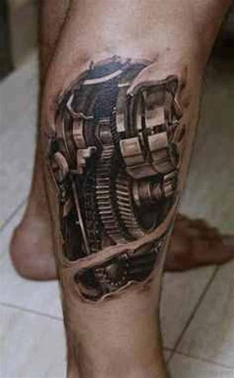 3d leg tattoo 70 mind blowing leg tattoos