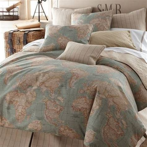 legacy home world map bedding by legacy home bedding