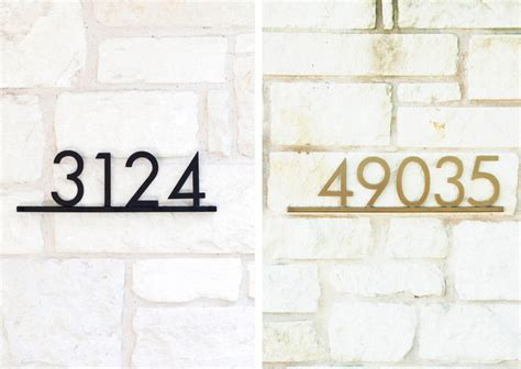 design milk address updated modern house numbers design milk