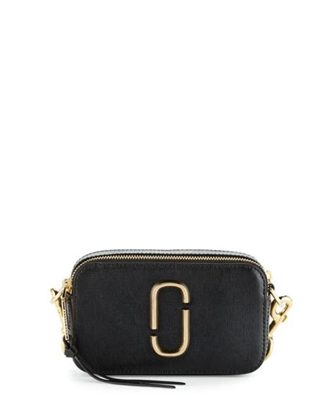 Snapshot Bag by Marc Snapshot Small Leather Bag Black