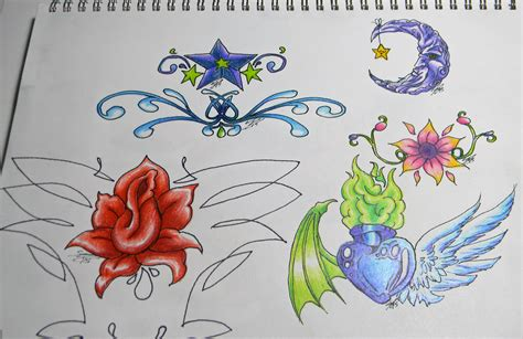 tattoo idea quiz tattoo design practice by crystalsiren7 on deviantart