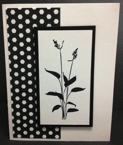 Black And White Handmade Cards - black white handmade card using world of dreams st