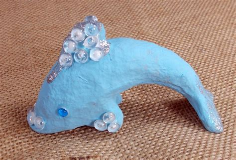 How To Make A Paper Mache Dolphin - 15 crafts for dolphin