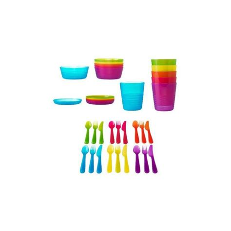 ikea kindergeschirr besteck set kalas 36 teile ovp ebay - Ikea Kindergeschirr