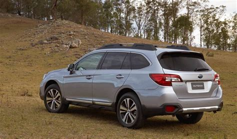 subaru outback 2018 2018 subaru outback update now on sale in australia