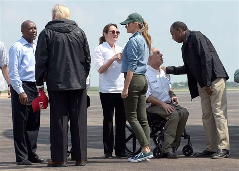 Sendal Kasual Wanita Sandals Nanny Wihte Hurricane H Limited melania returns to in another pair of high heels