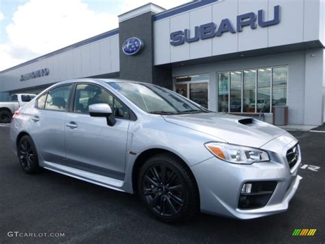 silver subaru wrx 2017 2017 silver metallic subaru wrx 114050022 photo 2