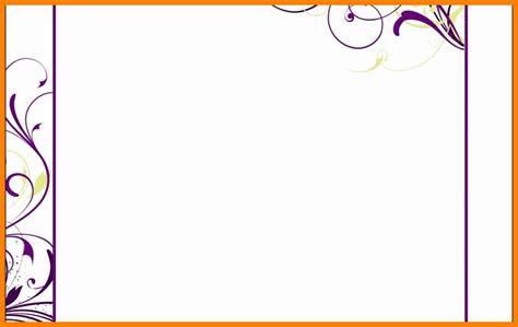11 blank invitation templates for microsoft word job