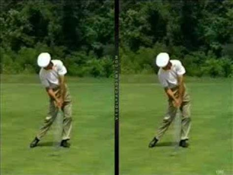 golf swing ben hogan golf swing analysis online ben hogan pga youtube