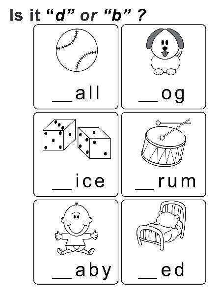 B And D Worksheets by All Worksheets 187 Letter B And D Worksheets Printable