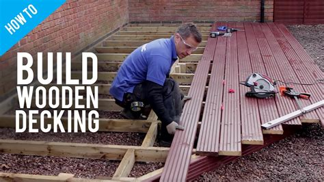 build lay timber decking youtube