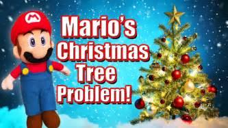 sml movie mario s christmas tree problem youtube